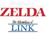 Adventure of Link Logo revamp (Variation  1) by OkamiTakahashi