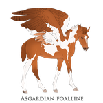 Asgardian Foal Design02 by LiveWild4Ever