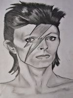 David Bowie by MontseVelmz