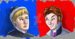 Kristoff and Hans by Toyboy566