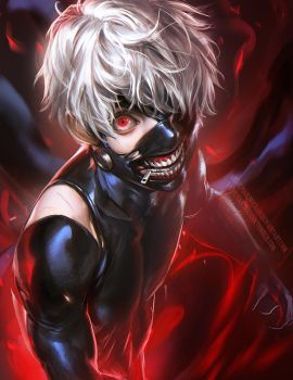 Tokyo Ghoul by sakimichan