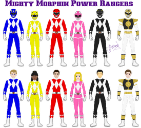 MMPR Second Generation by Ameyal