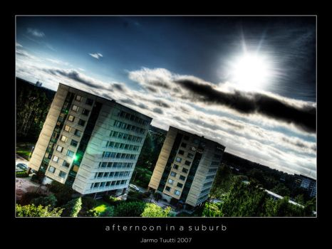 Afternoon in a Suburb by theFouro