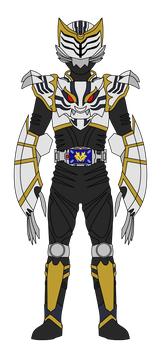 Kamen Rider Tiger: Survive Mode by DarkTidalWave