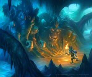 Hearthstone - Ice Cavern Quest by namesjames