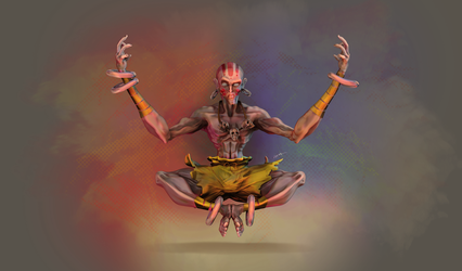 dhalsim by 0615110