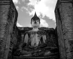 Sukhothai temple complex #4 by Roger-Wilco-66