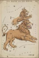 Vintage Astrology-Leo by HauntingVisionsStock