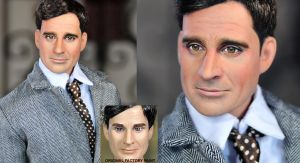 Steve Carell as Maxwell Smart by noeling