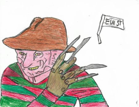 freddy  Krueger by SithLord67