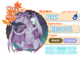 Pkmnation: Perry [lvl 34] by VueloRancho