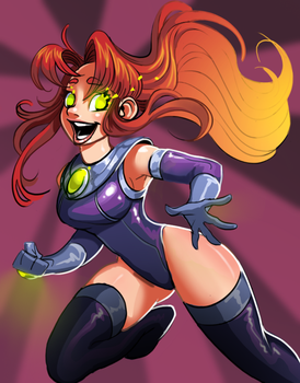 Starfire by Philtomato