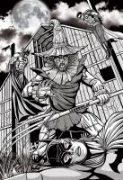 Scarecrow No Mercy by leandro-sf