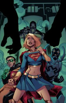 Supergirl cover by DougGarbark