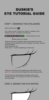 Step by step eye tutorial by Duskie-06