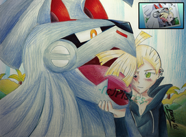S/M Gladion and Silvally