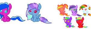 New Ocs That Need Names! by star4567980