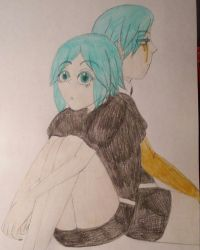 Phosphophyllite (Normal and Post Winter) by TomboyJessie13