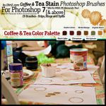 Coffee and Tea Stain Brushes by KeepWaiting