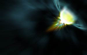 Space Xplosion Blurred - Wall by SeoxyS
