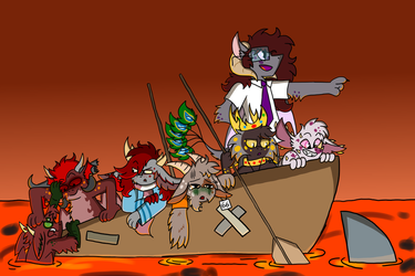 Demon Boat Ride by Numbuh-27