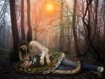Lamias Forbidden Forest by mythster-seven