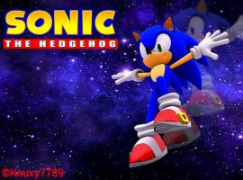 Sonic the Hedgehog - Wallpaper[4?] by Knuxy7789