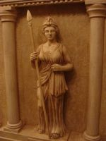 The statue of Athena by Bozzenheim