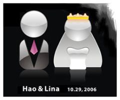 My wedding icon by denghao