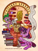 MLP: Twilight Sparkle and Friends by FrauV8