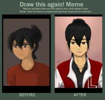 Before and After - Kyle by LexiSmiles