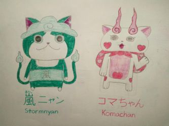 Stormnyan and Komachan by Dilettante1337