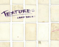 Textures: Trading card backs by Uzlo