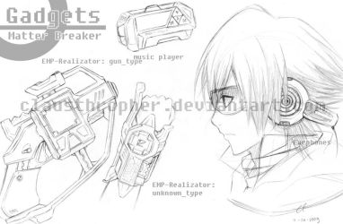 Matter_Breaker - The Gadgets by clausthropher