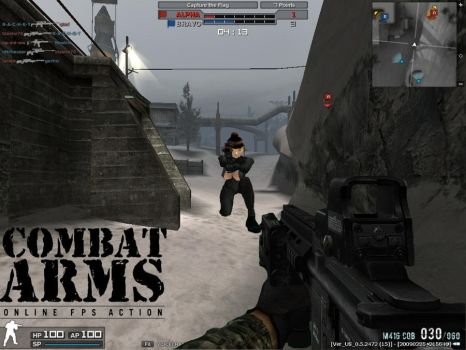 Combat Arms+SSBB by Pinutk