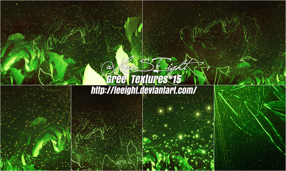 Green Textures15 by LeEight