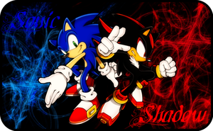 +Sonadow Wallpaper+ by DeathGoddess1995