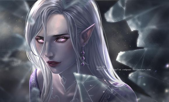 CM - Iseult - the glass witch by RedPear
