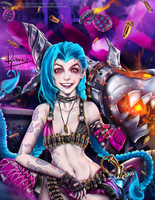 Jinx - League of Legends by Reivash