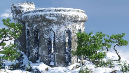 Ruins - The First Snow (img01) by Andrey79