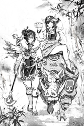 CONCEPT: Overwatch To the West by RobotCatArt