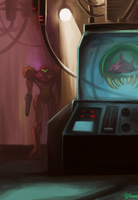 Metroid Ceres Station Lab by GreenStranger