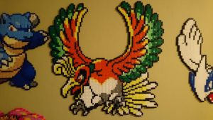 Pokemon #6 - Ho-oh by MagicPearls