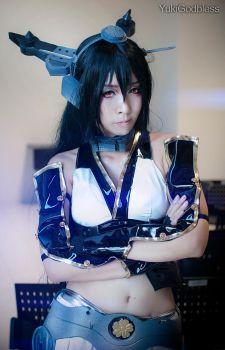 Kantai collection/Nagato Cosplay by yukigodbless