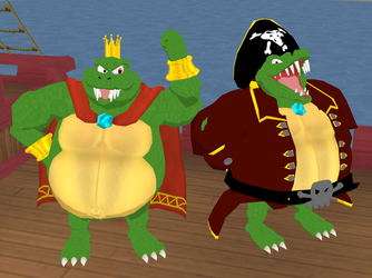 King K. Rool by Gale-Kun