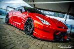 Red Nissan Skyline GTR R35 by sweetcivic