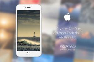Retina HD Wallpaper Pack No. 2 - iPhone 6/S Plus by pddeluxe