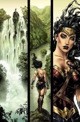Wonder Woman page 1 issue 1 by LiamSharp
