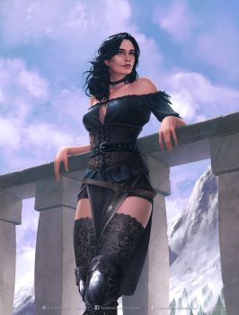 Yennefer by krysdecker