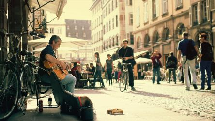 GIF - Busker by turst67